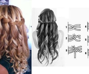 curls, hairstyle, and tutorial image
