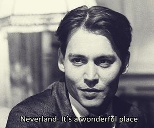 neverland, johnny depp, and wonderful image