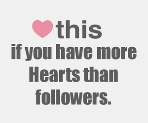 followers and hearts image