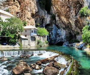 blagaj, nature, and house image
