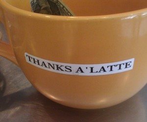 coffee, funny, and puns image