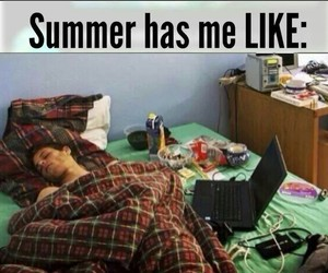 summer, funny, and me image