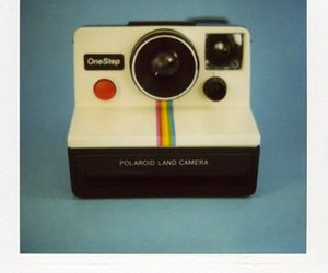 camera and polaroid image