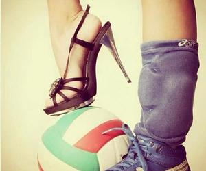sports, voleyball, and love image