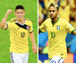 neymar, colombia, and brazil image