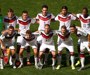 germany, brazil soccer, and love image
