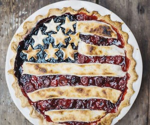 pie, food, and america image