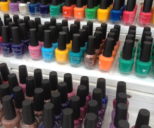 beauty, nail lacquer, and fashion image