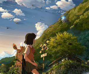 anime, journey to agartha, and hoshi o ou kodomo image