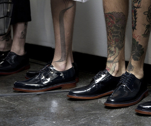 tattoo, shoes, and boy image