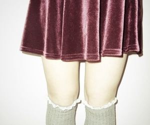 grunge, indie, and skirt image