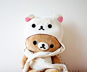 cute, rilakkuma, and bear image