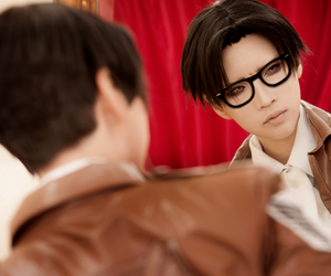 cosplay, snk, and reika image