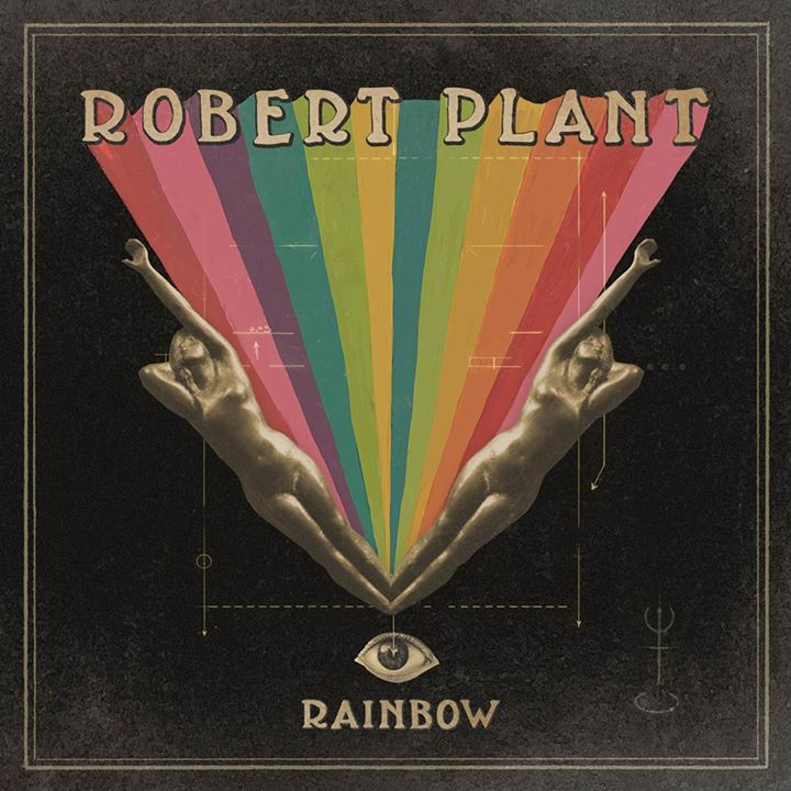 rainbow, robert plant, and rock image