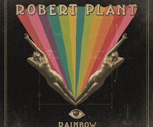 rainbow, robert plant, and rock image