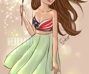 sparklers, summer, and drawng image