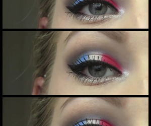 awesome, colors, and eyeliner image