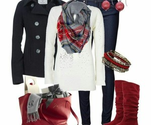 clothes, fashion, and boots image