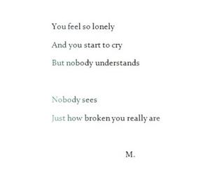 broken, cuts, and depressed image