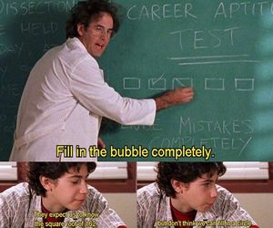 funny, lizzie mcguire, and school image