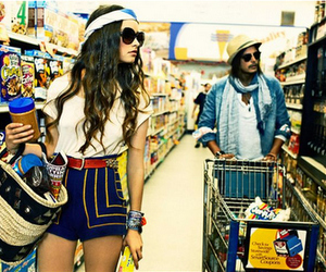girl and shopping image