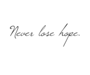 hope, quotes, and never image