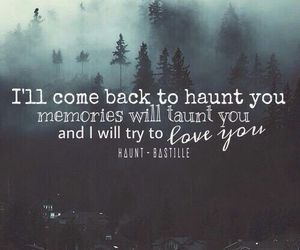 bastille, band, and haunt image