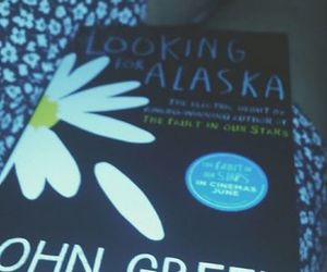 book, grunge, and looking for alaska image
