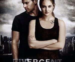 four, movie, and divergent image