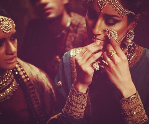 bride, shaadi, and indian image