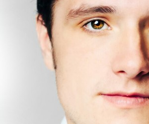 josh hutcherson, josh, and eyes image