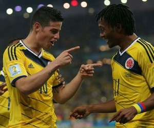 colombia, james, and Tricolor image