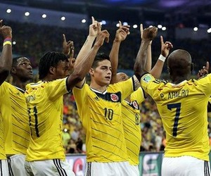 colombia, james rodriguez, and cuadrado image