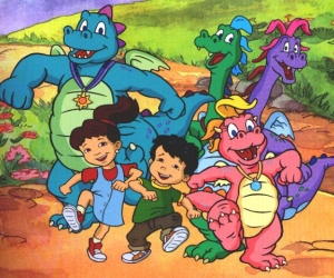 dragon tales, dragon, and childhood image