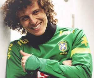 david luiz, brasil, and football image