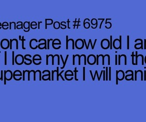 supermarket, funny, and mom image
