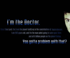 doctor who, david tennant, and 10th doctor image