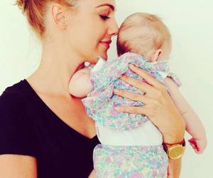 cute, baby, and love image