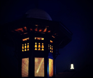 Bosnia, lights, and mosque image