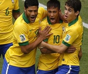 Hulk, neymar, and brazil image