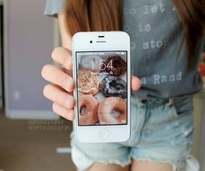 amazing, wallpaper, and donut image