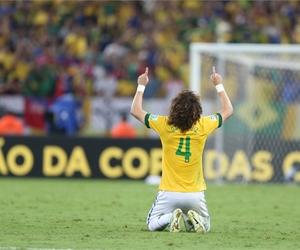 david luiz, brasil, and brazil image