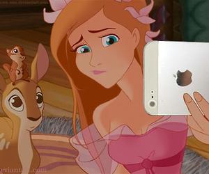 selfie, disney, and iphone image