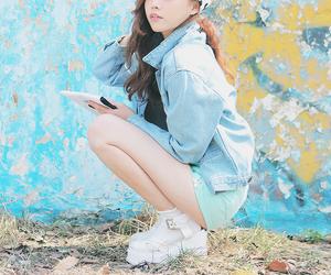 kfashion and korean image