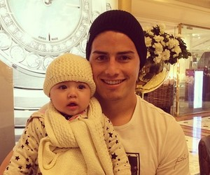 james rodriguez, baby, and colombia image