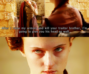 game of thrones, sansa stark, and joffrey baratheon image