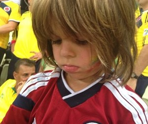 colombia, so cute, and hinchas image