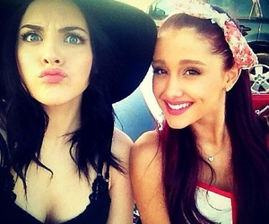 ariana grande and elizabeth gillies image