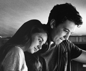 the spectacular now, Shailene Woodley, and miles teller image