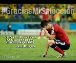 colombia, gracias, and james rodriguez image